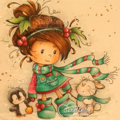 Christmas Friends (modèle de Janiel Corley)