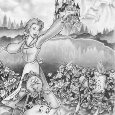 Juillet 1993 - La Belle et la Bête