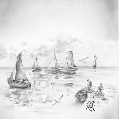 Novembre 1994 - Pêcheurs