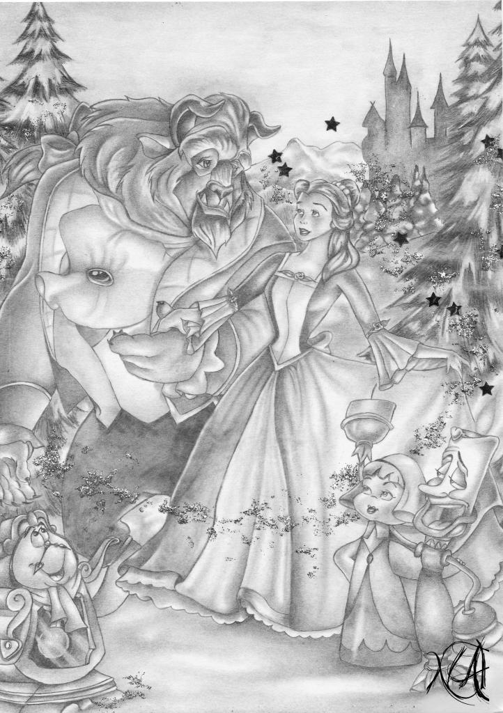 Janvier 2000 - La Belle et la Bête 2
